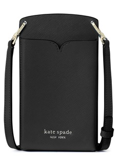 kate spade new york spencer leather phone crossbody bag