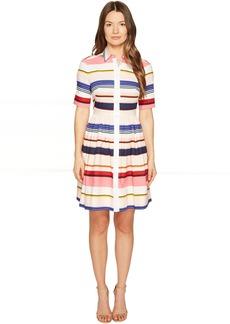 Kate Spade New York Spice Things Up Berber Stripe Shirtdress