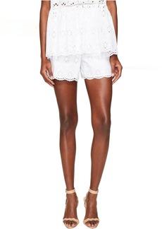 Kate Spade New York Spice Things Up Eyelet Shorts