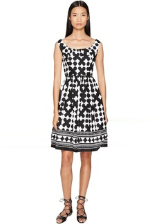 Kate Spade Spice Things Up Lantern Scoop Neck Dress
