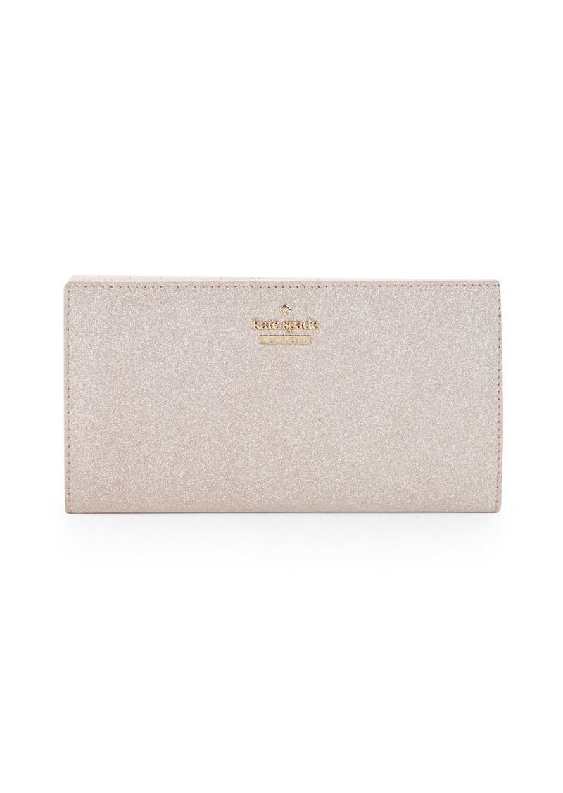 KATE SPADE NEW YORK Stacy Metallic Bifold Wallet