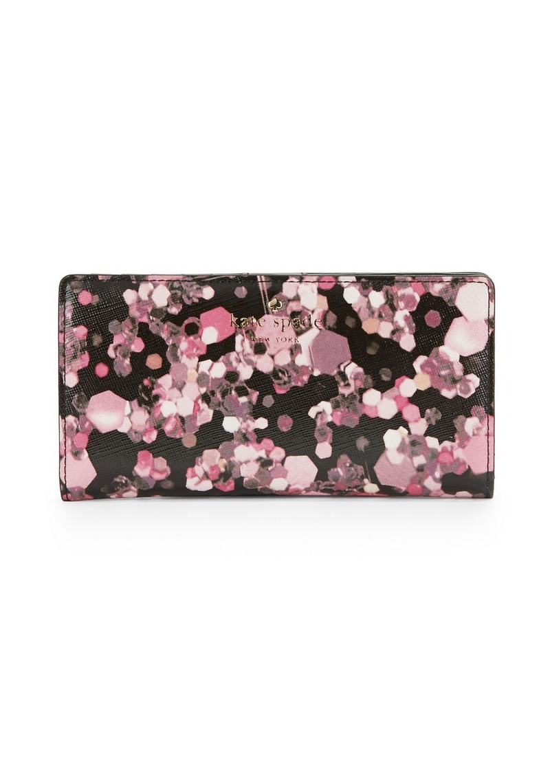 KATE SPADE NEW YORK Stacy Printed Bifold Wallet