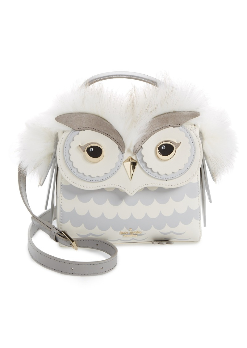 Kate Spade New York Starbright Owl Leather Top Handle Satchel