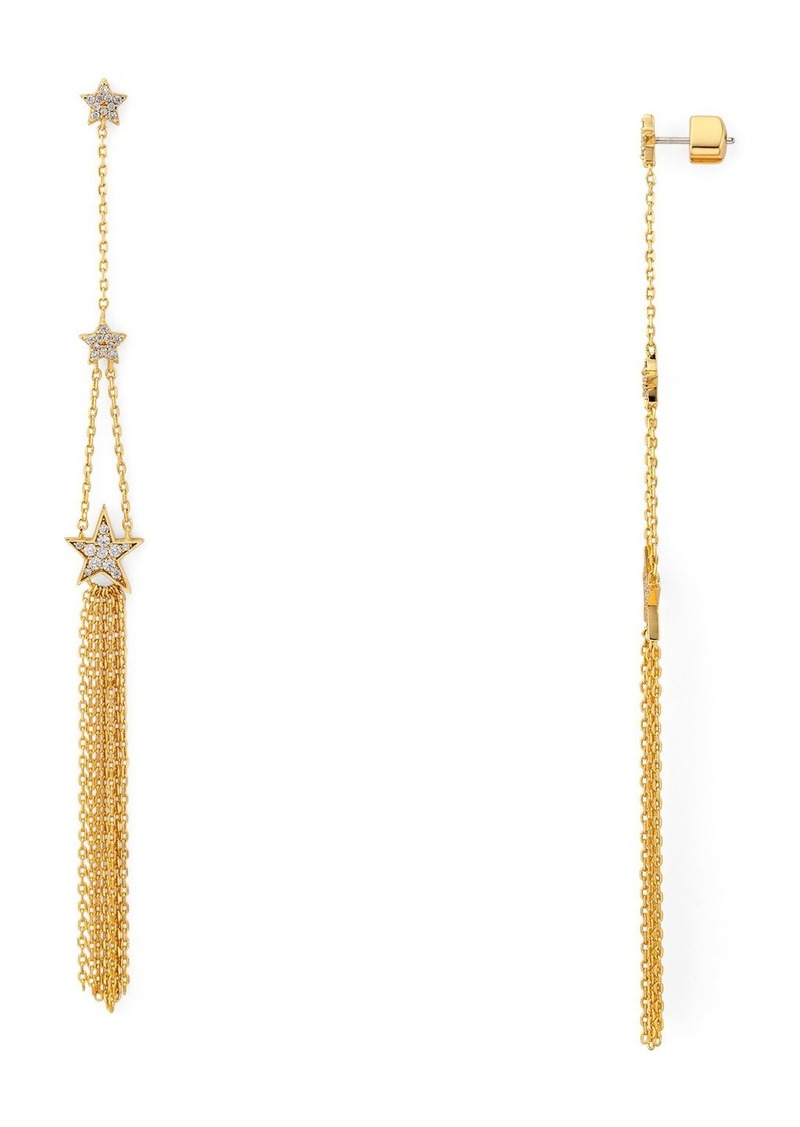 kate spade new york Stargaze Linear Drop Earrings
