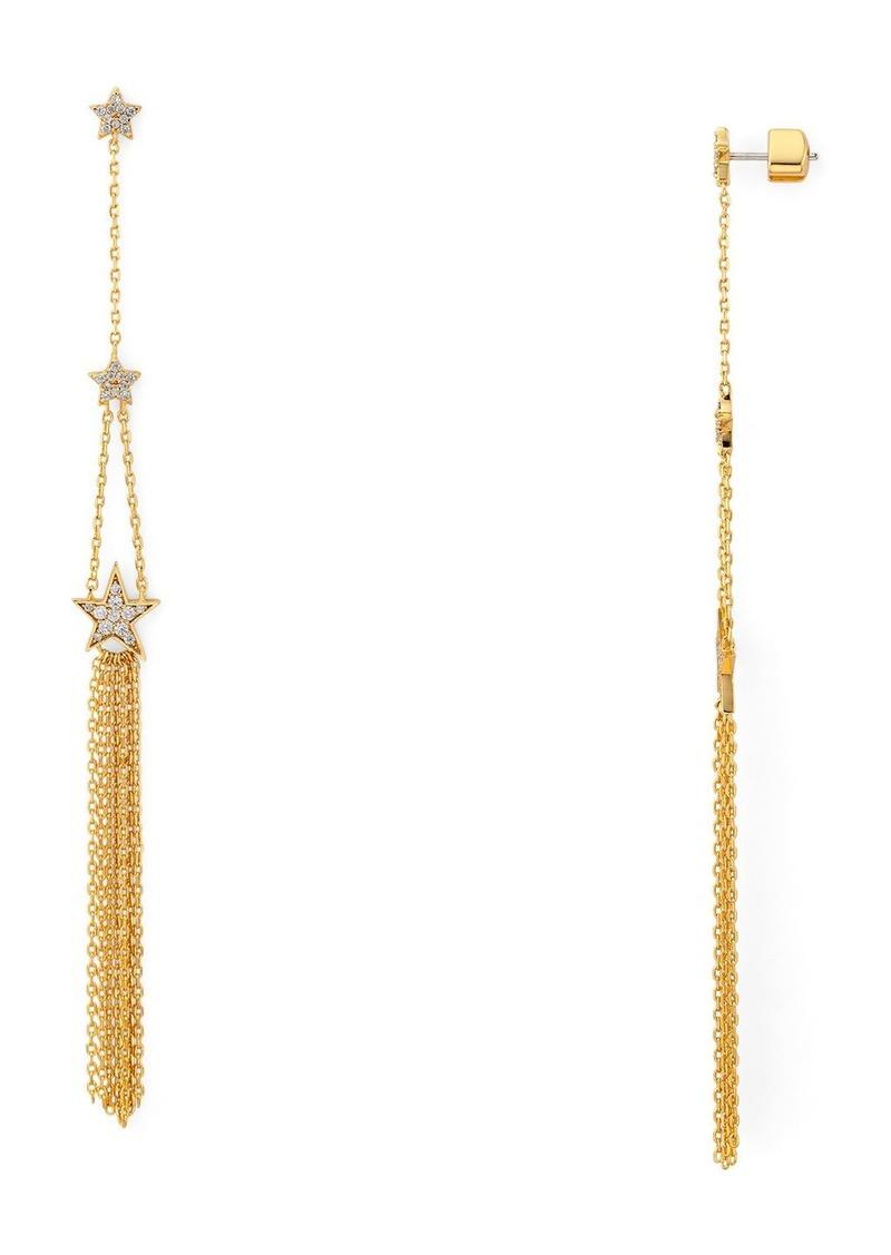 kate spade new york Stargaze Linear Drop Earrings