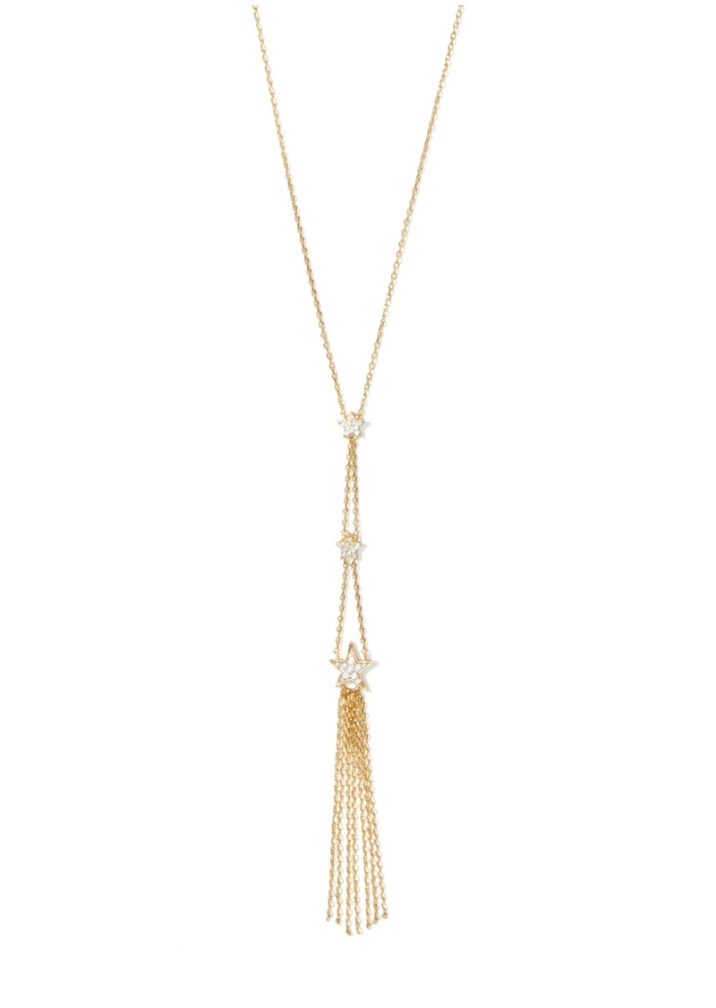 kate spade new york stargaze statement tassel pendant necklace