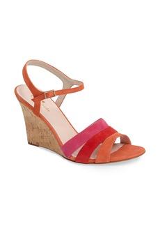 kate spade new york strappy wedge sandal (Women)
