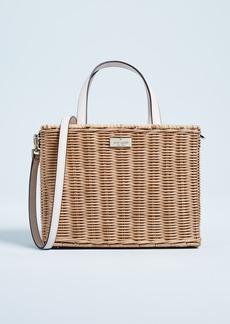 Kate Spade New York Straw Sam Tote Bag