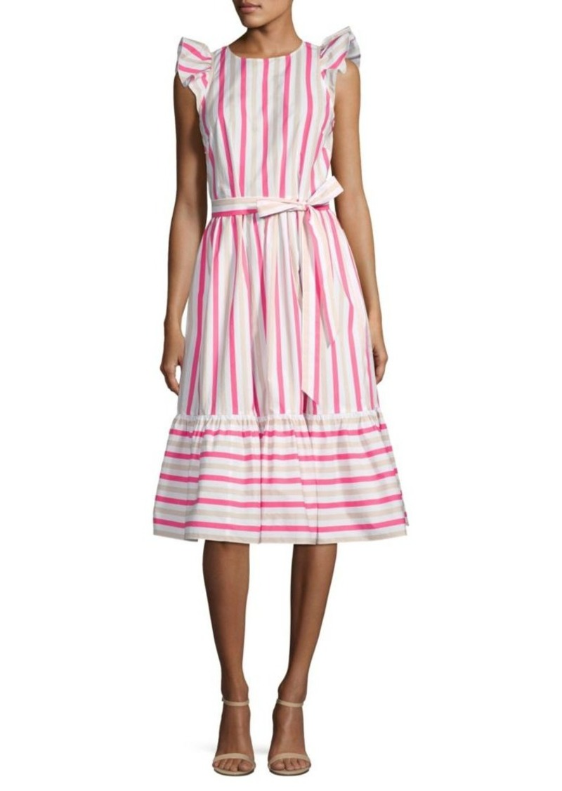 ee067d5e2bbb Kate Spade Stripe Cotton Poplin Midi Dress | Dresses