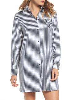 kate spade new york stripe sleep shirt