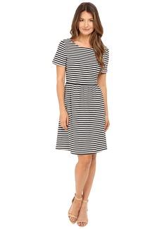 Kate Spade New York Stripe Twist Back Dress