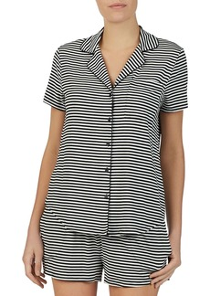 kate spade new york Striped Pajama Set