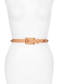 kate spade new york studded belt