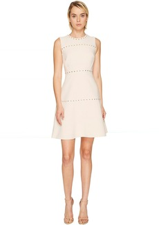 Kate Spade New York Studded Crepe Dress