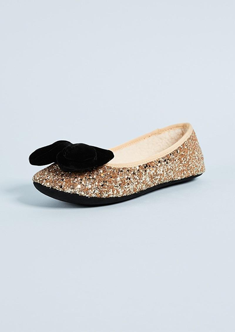 971cf9f4cf19 Kate Spade Kate Spade New York Sussex Glitter Ballet Flats
