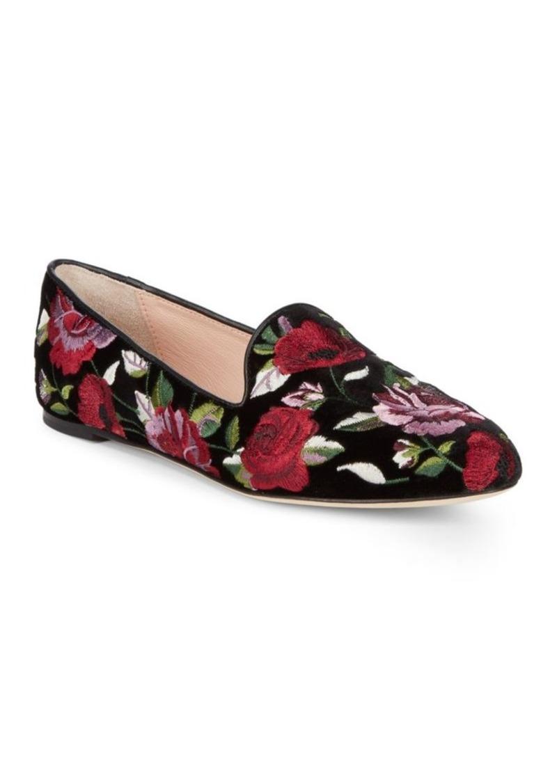 fd3d83cf3bf5 Kate Spade Kate Spade New York Swinton Velvet Floral Loafers