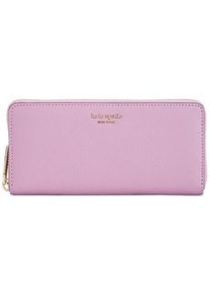 kate spade new york Syliva Leather Slim Continental Wallet