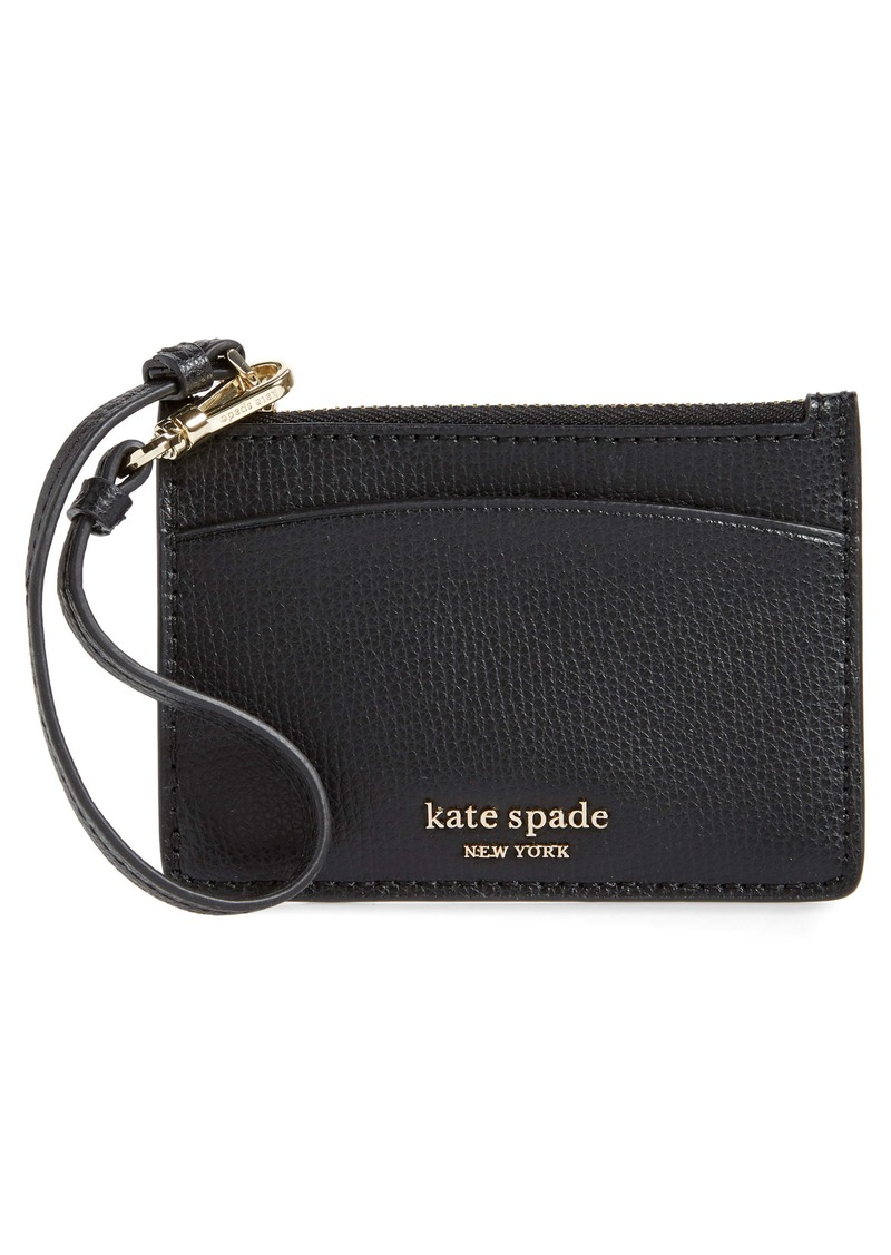kate spade new york sylvia leather card holder wristlet