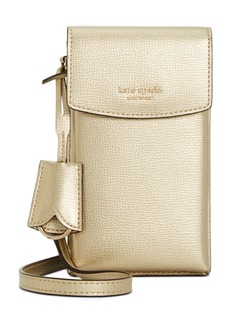 Kate Spade New York Sylvia North South Flap Leather Crossbody
