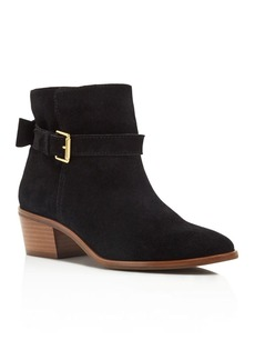 kate spade new york Taley Suede Block Heel Booties