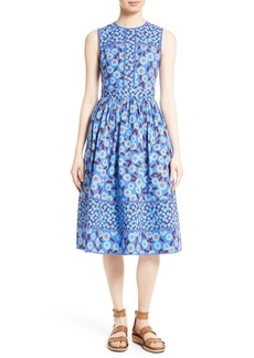 kate spade new york tangier floral midi dress