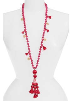 kate spade new york tassel pendant necklace