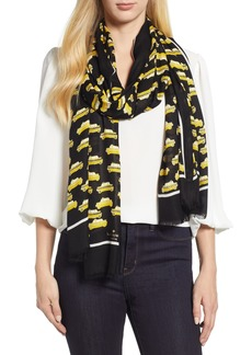 kate spade new york taxi scarf