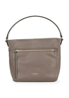 KATE SPADE NEW YORK Teagan Pebbled Leather Shoulder Bag
