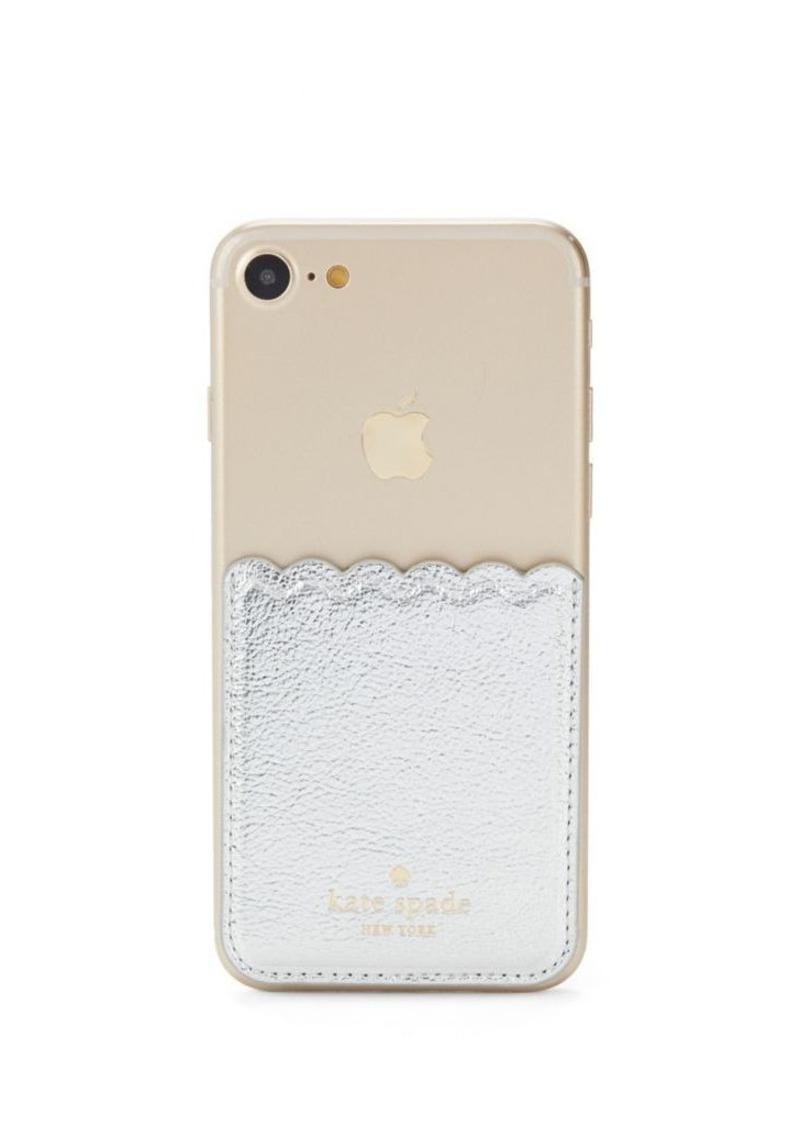 official photos 6186d 81890 New York Tech Accessories Metallic Scallop Sticker Pocket