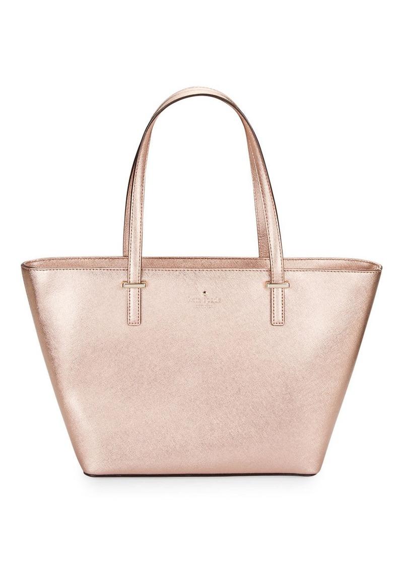 KATE SPADE NEW YORK Textured Leather Tote Handbag