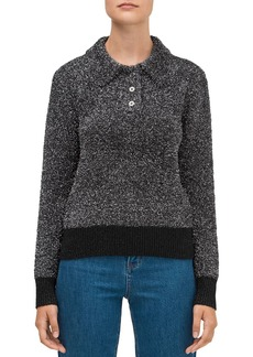 kate spade new york Textured Sparkle Sweater