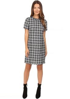 Kate Spade New York Textured Tweed Sheath Dress