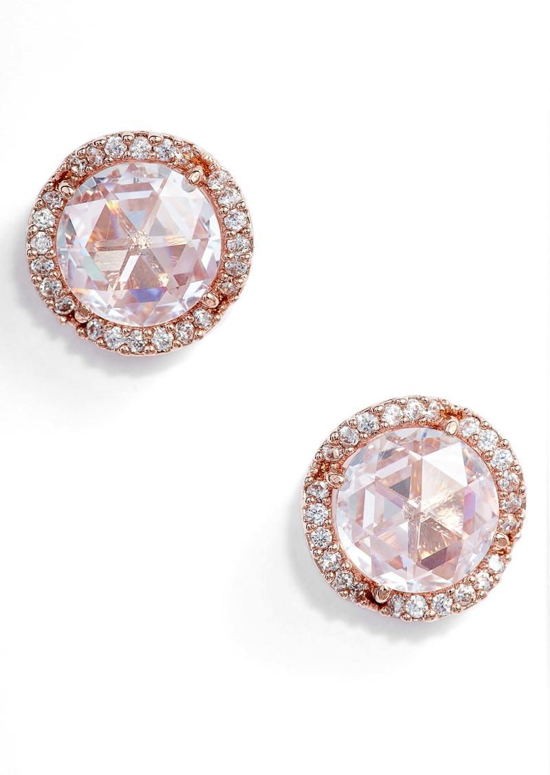 kate spade new york that sparkle large pavé stud earrings