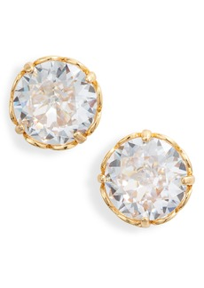 kate spade new york that sparkle round stud earrings