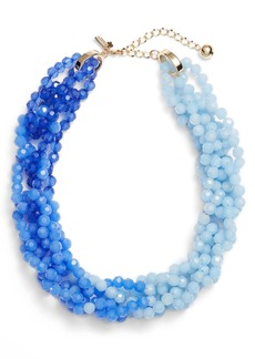 kate spade new york the bead goes on collar necklace