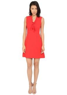 Kate Spade New York Tie Neck A-Line Dress