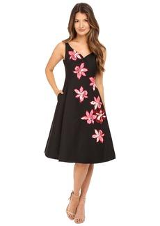 Kate Spade New York Tiger Lily Applique Dress