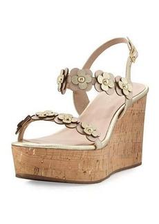 kate spade new york tisdale cork wedge sandal