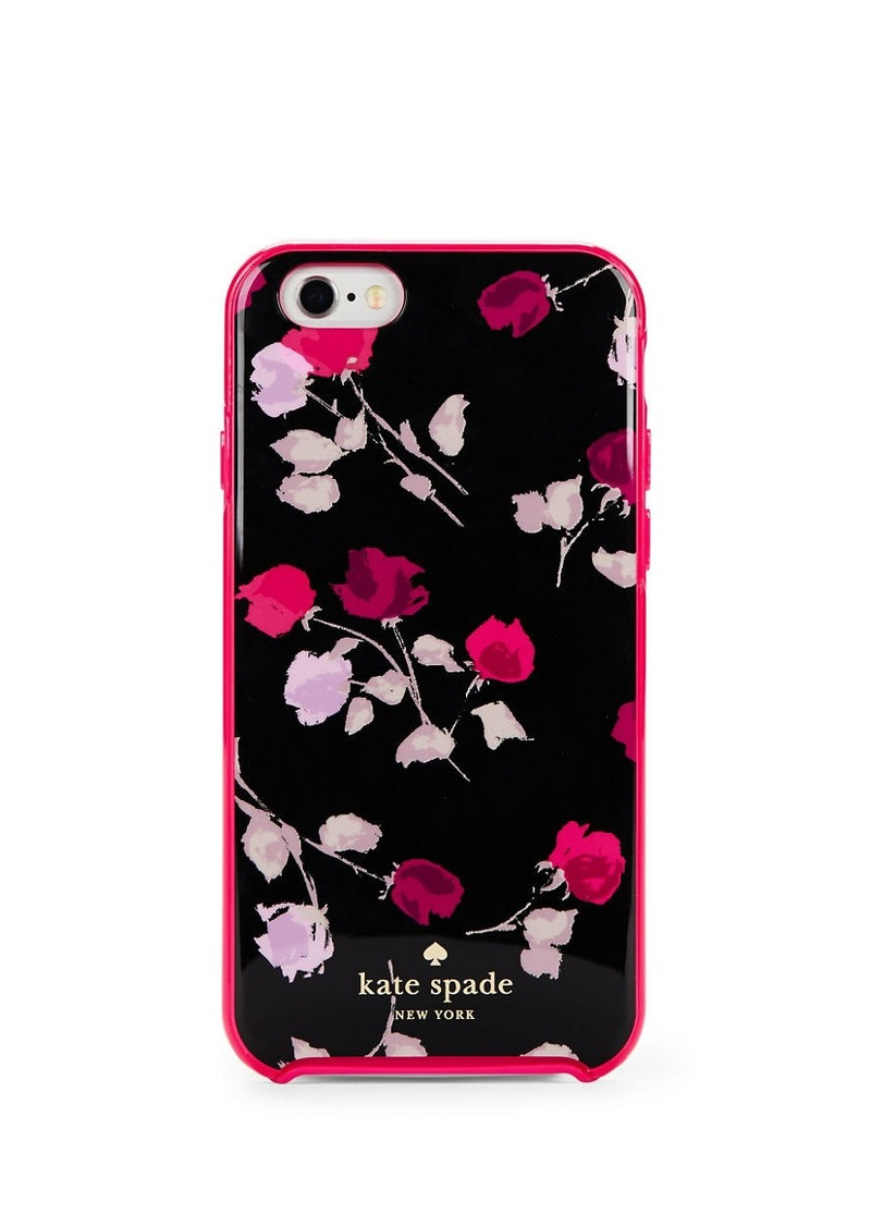 KATE SPADE NEW YORK Tossed Rose iPhone 6 Case