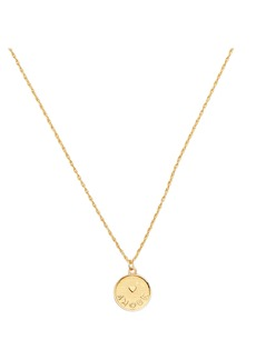 kate spade new york treasure forever amour pendant necklace