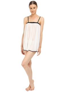 Kate Spade New York Tricot Babydoll w/ Matching Panty