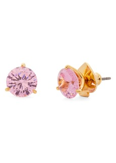 kate spade new york trio prong studs