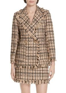 kate spade new york tweed blazer