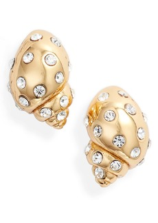 kate spade new york under the sea studded shell earrings