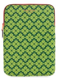 kate spade new york universal spade flower neoprene laptop sleeve