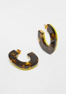Kate Spade New York Urban Jungle Resin Hoops