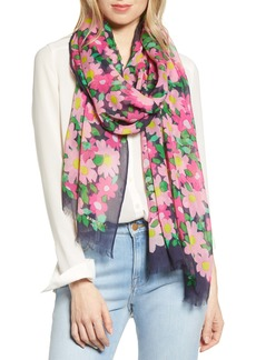 kate spade new york vintage garden scarf
