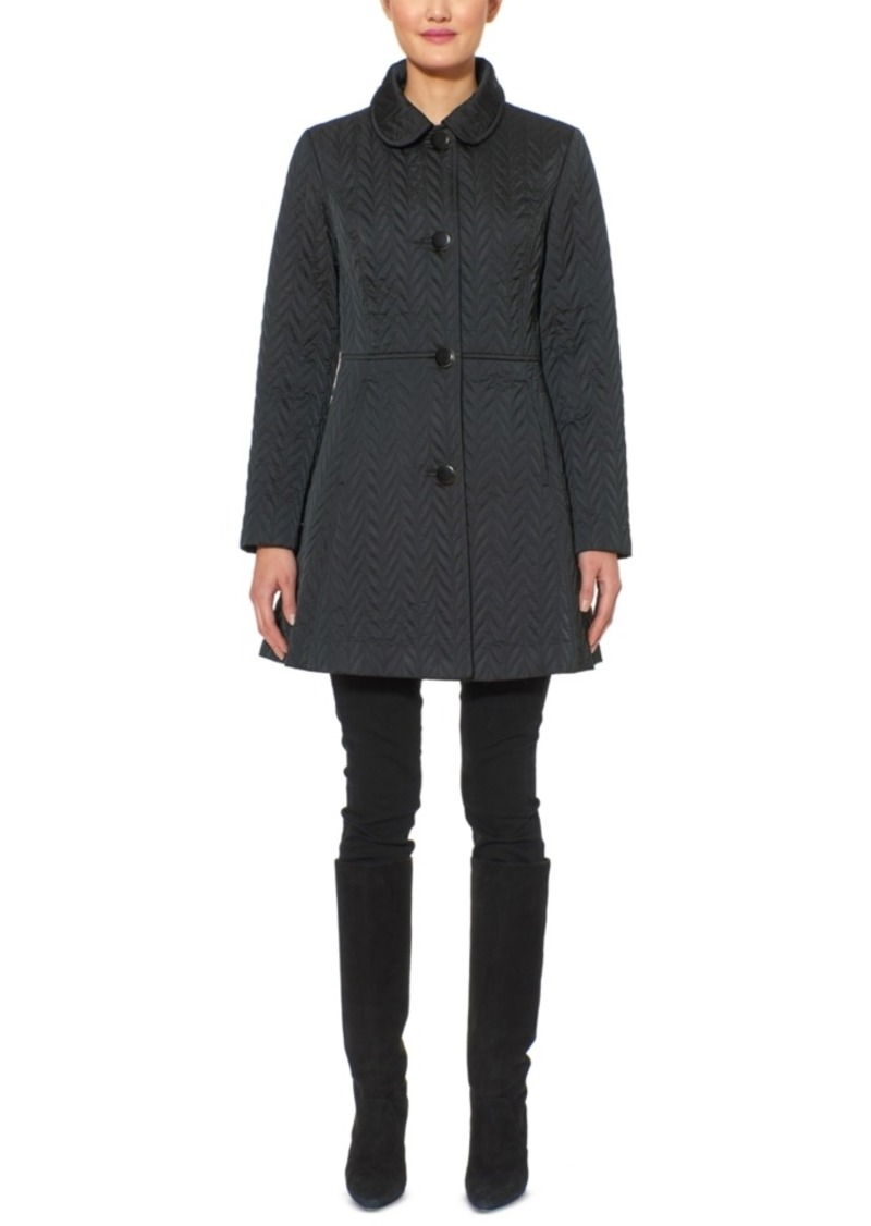 Kate Spade New York Water-Resistant Quilted Coat