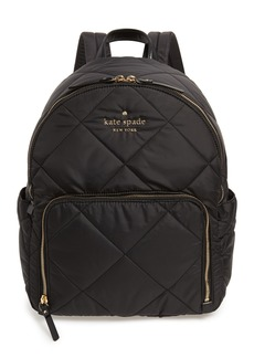 kate spade new york watson lane - baby hartley quilted nylon backpack