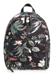 kate spade new york watson lane - botanical hartley nylon backpack